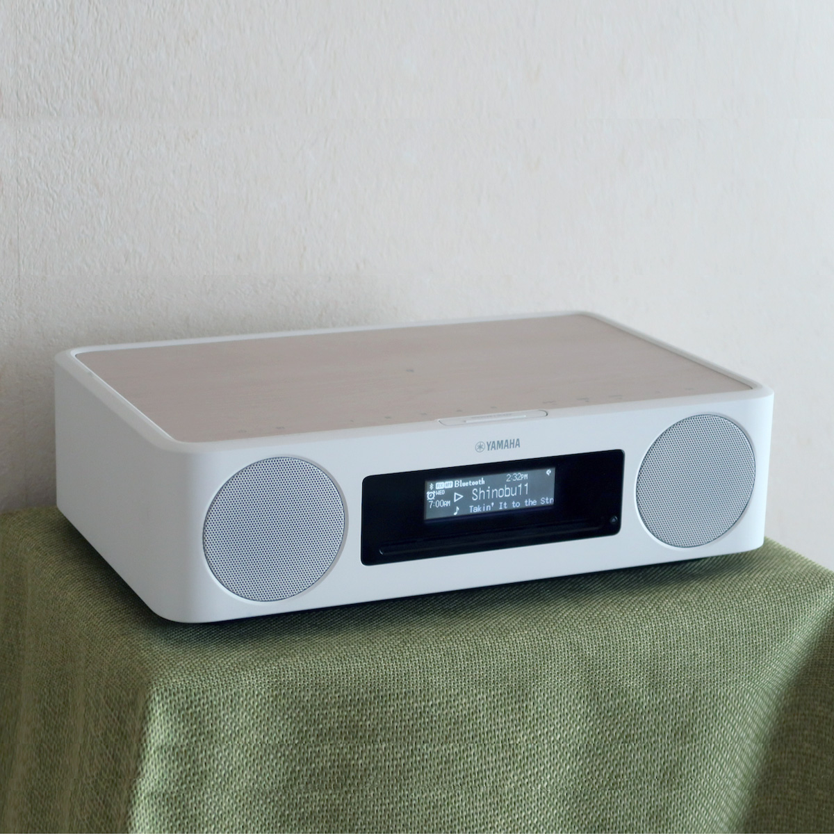 充電しながら音楽再生も! スマホと好相性なヤマハのコンパクトオーディオシステム「TSX-B237」