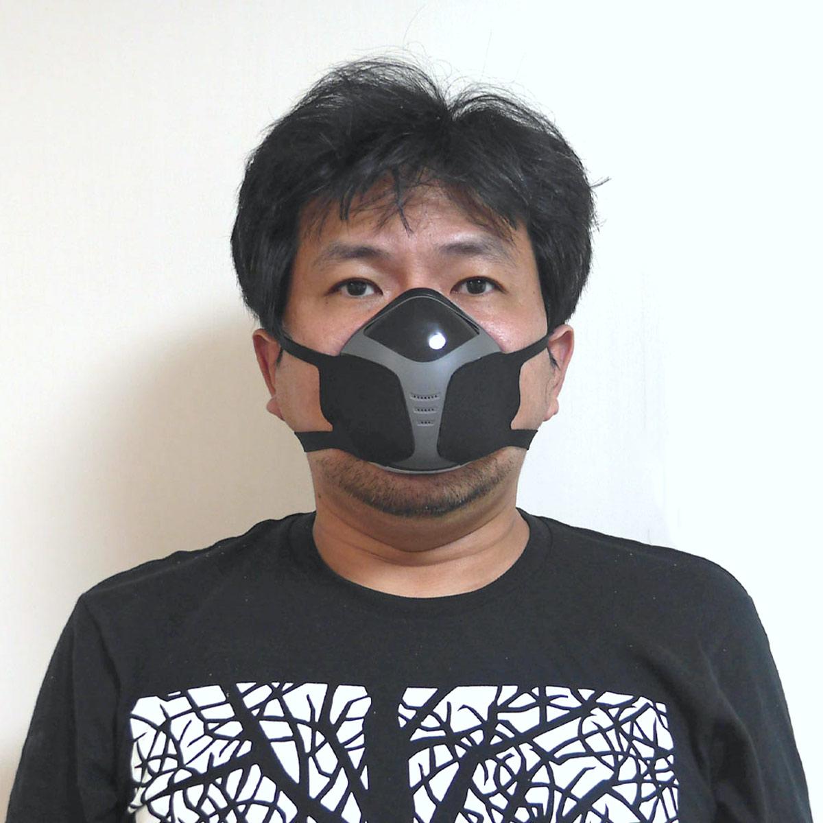 夏でもムレない「電動ファン付きマスク」を使ってみたら、想像以上に快適だった!