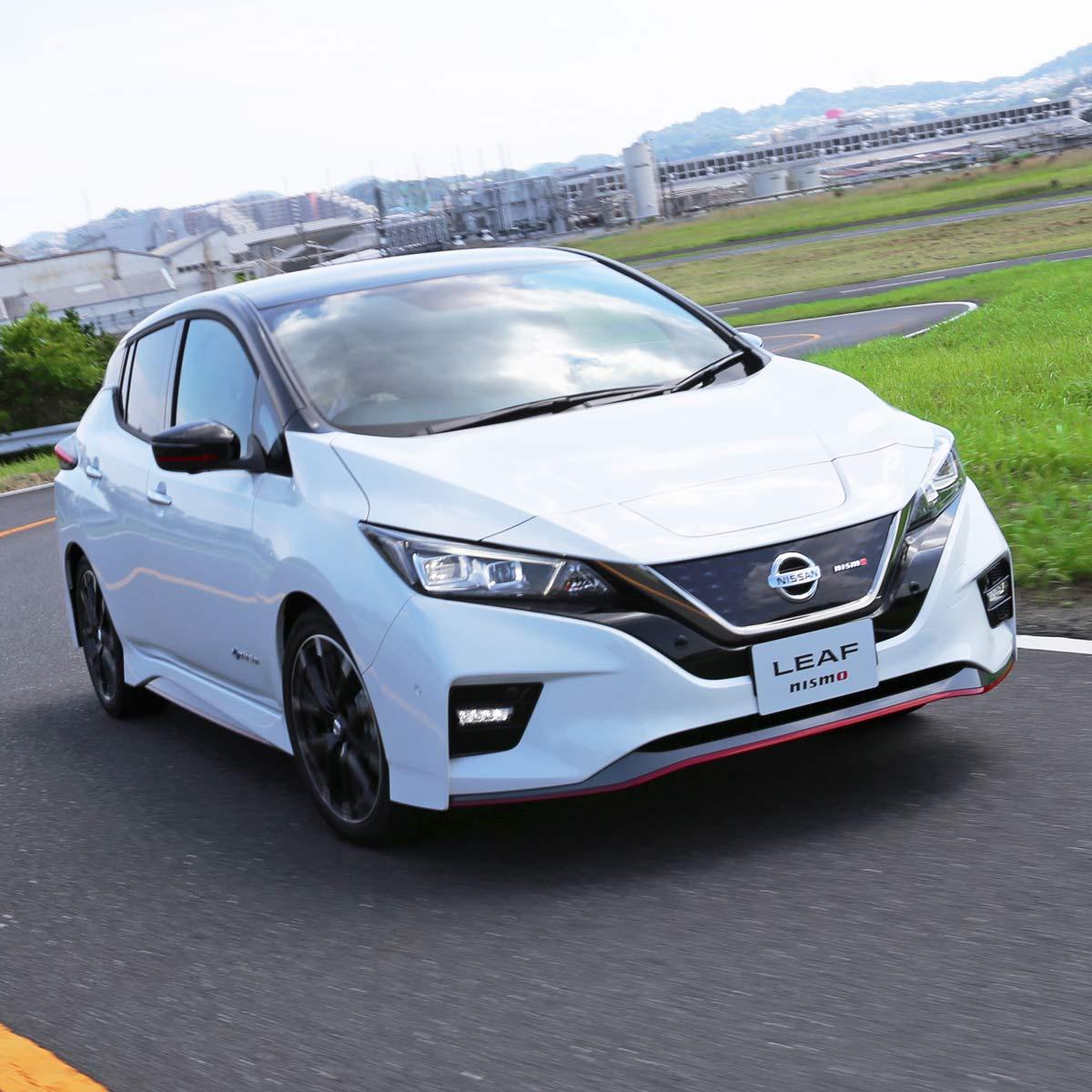 日産「リーフNISMO」2020年モデルは、走りの性能がさらにアップ!