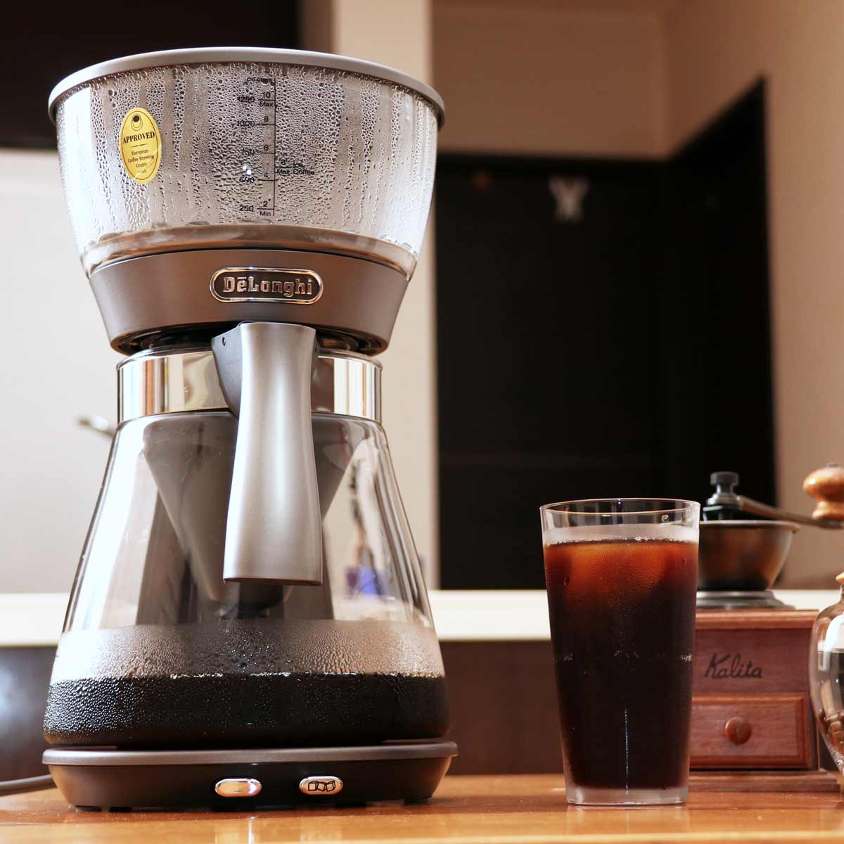 世界的にもめずらしいこだわりが満載!本格的なアイスコーヒーも楽しめるデロンギ「クレシドラ」