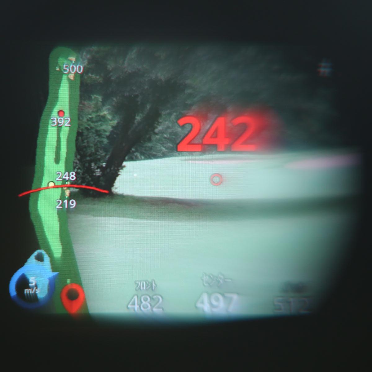 見えないハザードも測距可能!! GPS付きレーザー距離計・ガーミン「Approach Z82」
