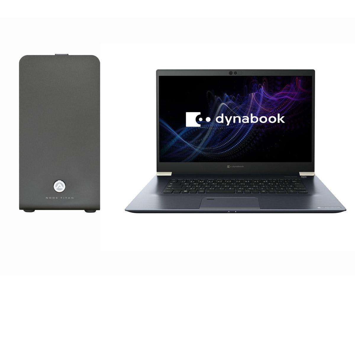 DynabookがノートPC+GPU Boxの「8K映像編集PCシステム」発表