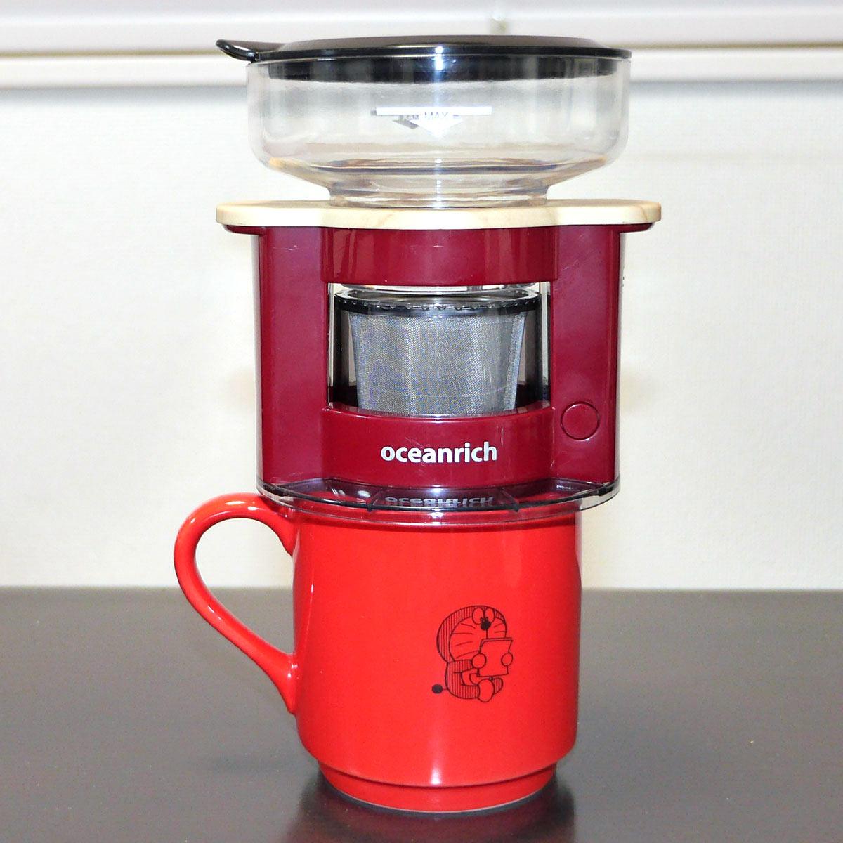 カップ1杯専用! 世界最小レベルのコーヒーメーカーが画期的