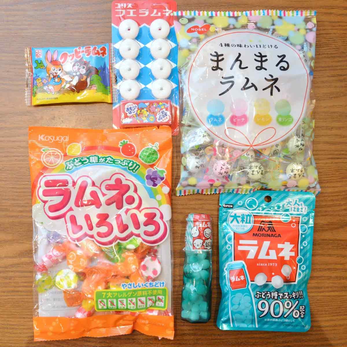 「ラムネ菓子」定番5ブランドをプロが食べ比べ! 清涼感の秘密はあの成分にあった