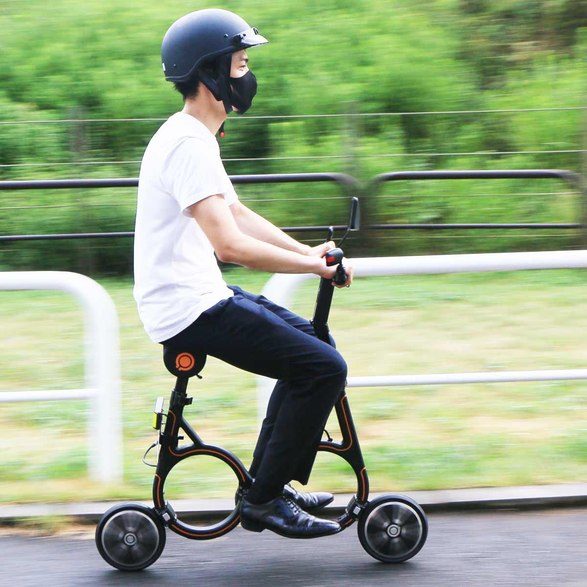 日本で乗れる新しい電動バイク!? 円形フレームが目を引く「Smacircle S1」に乗ってきた!!