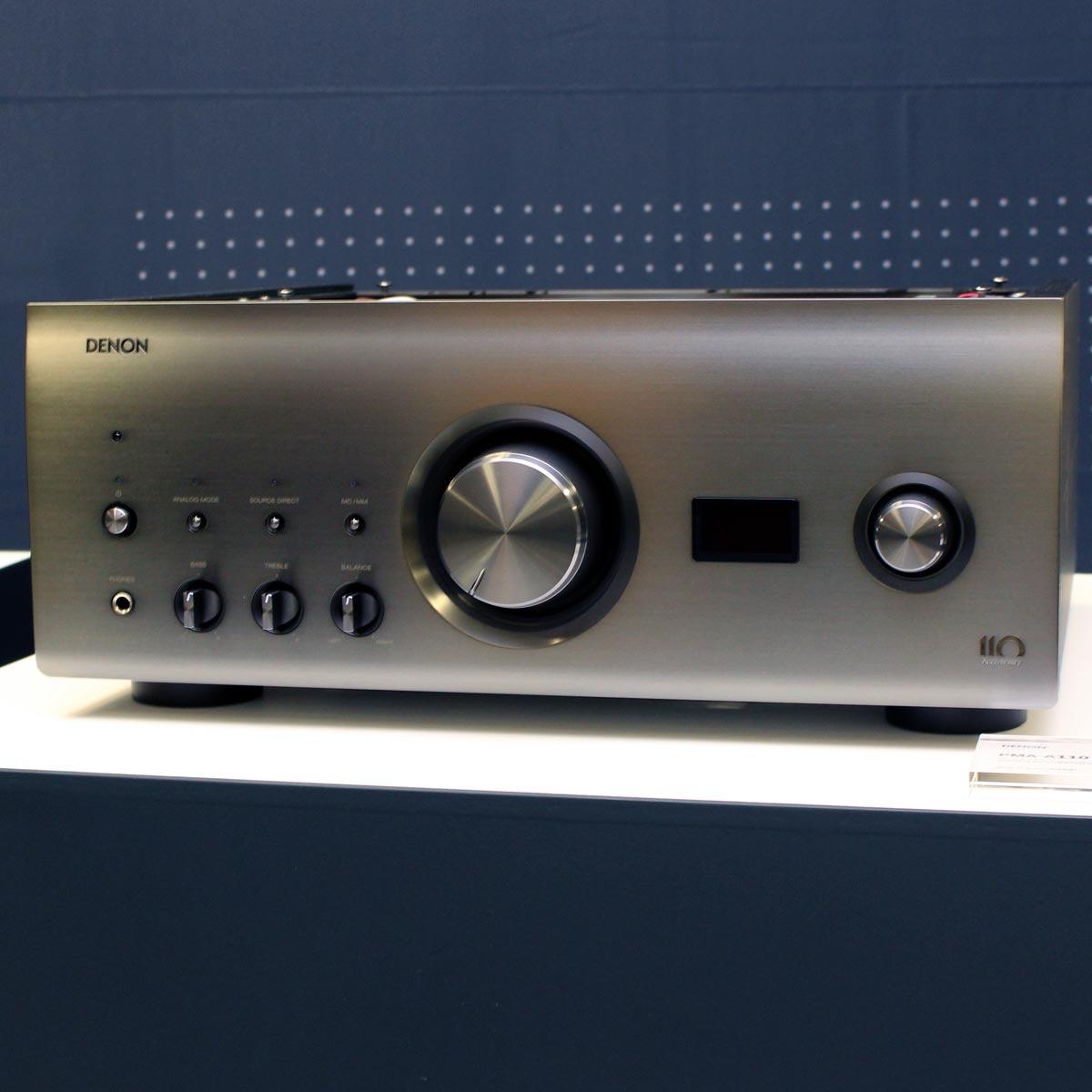 デノン110周年記念! 4つのアニバーサリーモデル「A110」シリーズが誕生