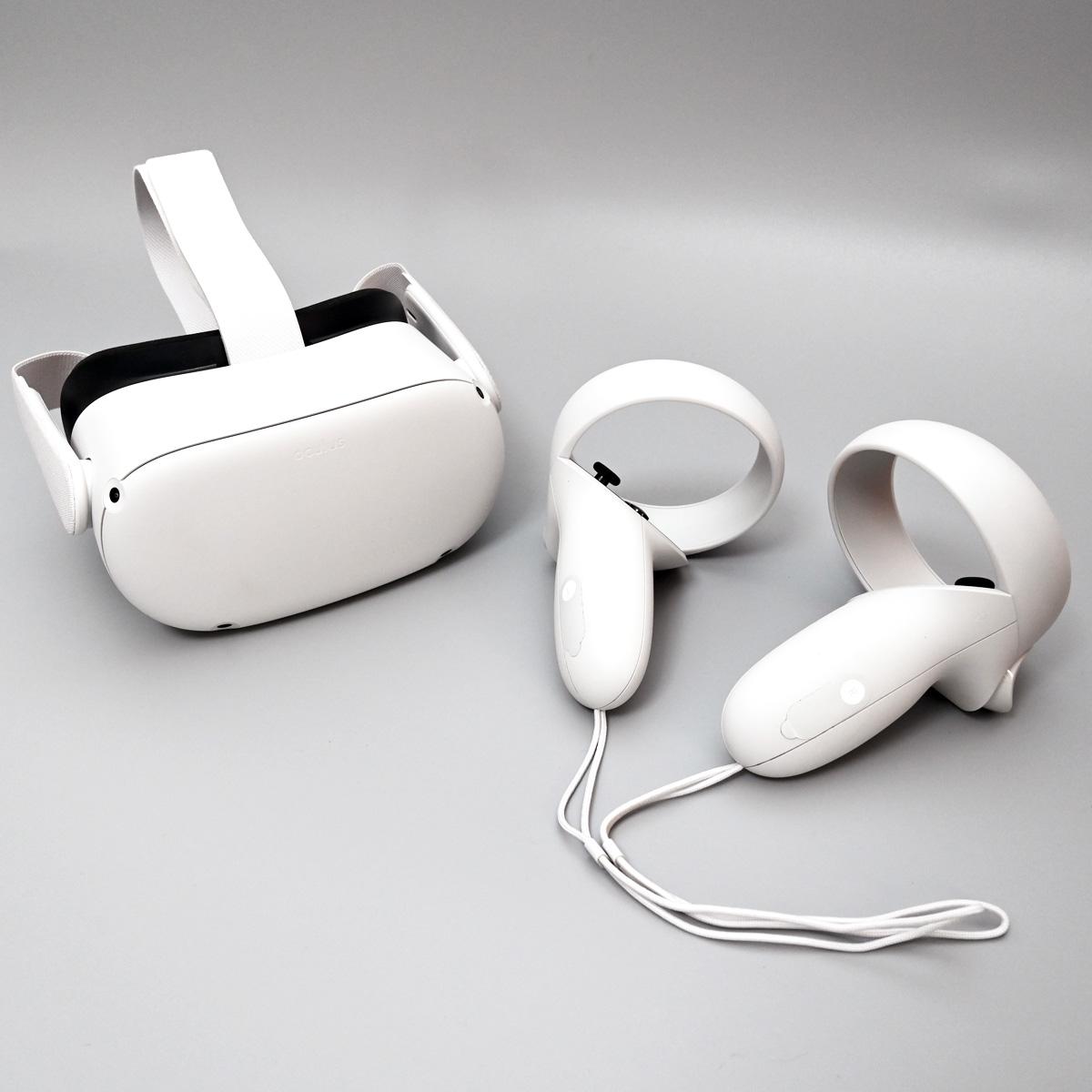 性能アップで価格はダウン! 33,800円から買えるゲーム向けVRヘッドセット「Oculus Quest 2」