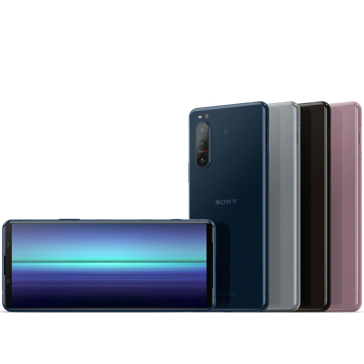 ソニーモバイルが、各種スペックアップした5Gスマホ「Xperia 5 II」を発表!今秋以降発売予定