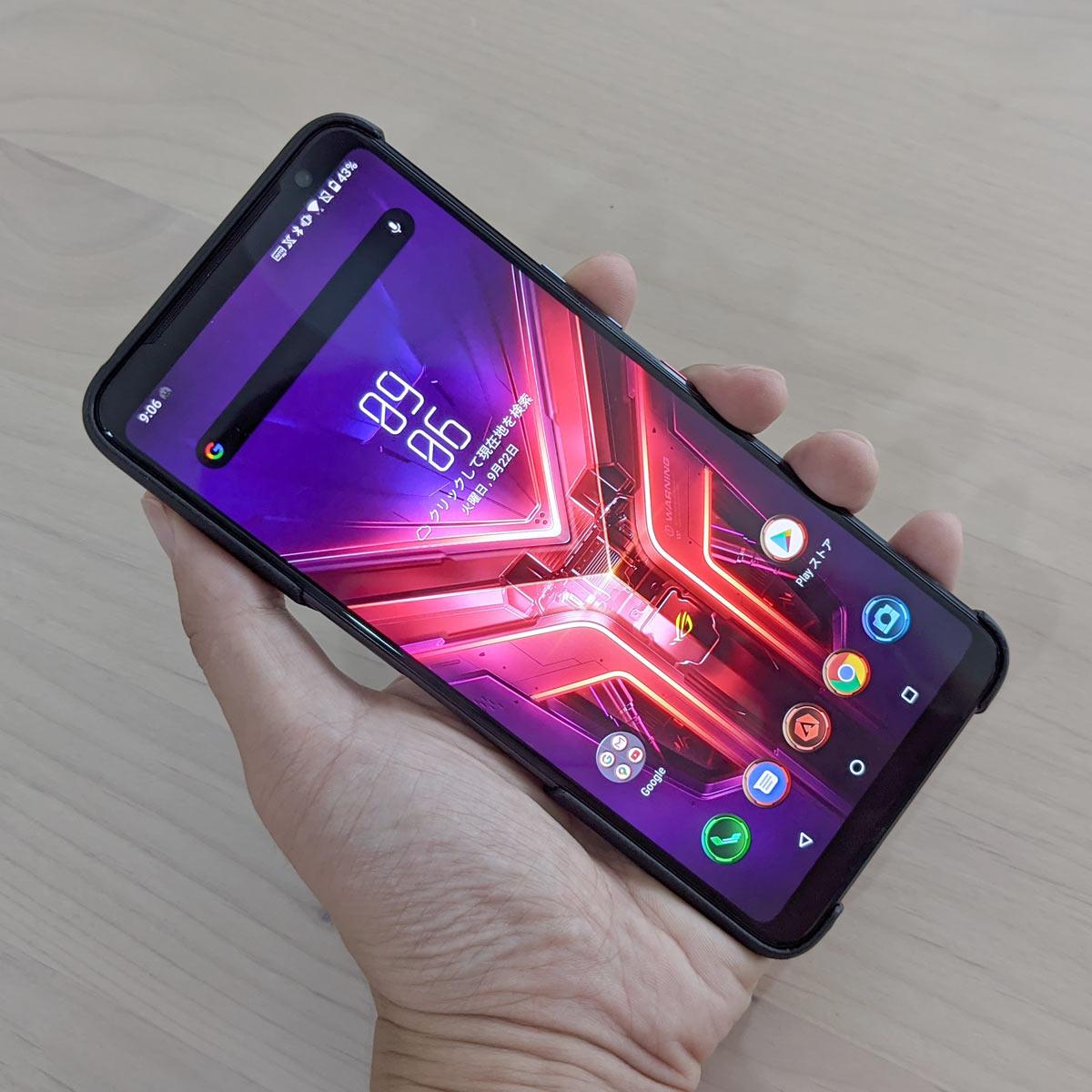 超ハイスペックゲーミングスマホ。ASUS「ROG Phone 3」レビュー