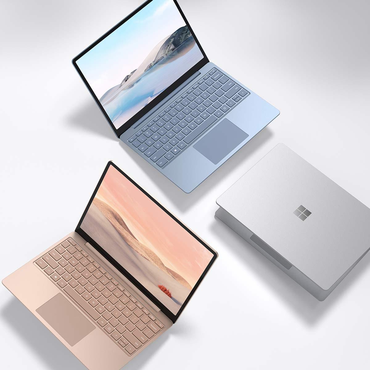 お財布にやさしい「Surface Laptop Go」登場! 12.4型の小型ボディで価格は76,800円(税別)から