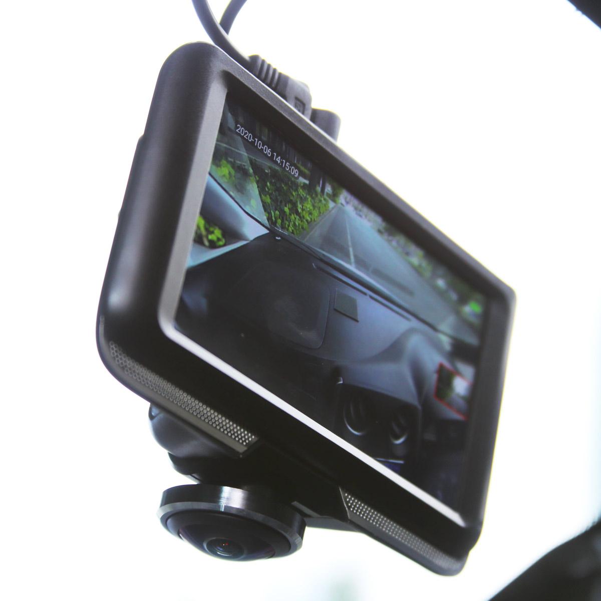 360度&リアカメラで16,800円! KEIAN「KDR-D360」ドラレコを試す
