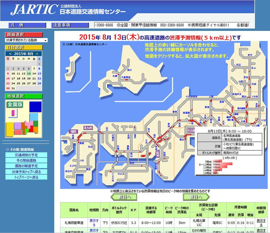 首都 高速 道路 渋滞 情報