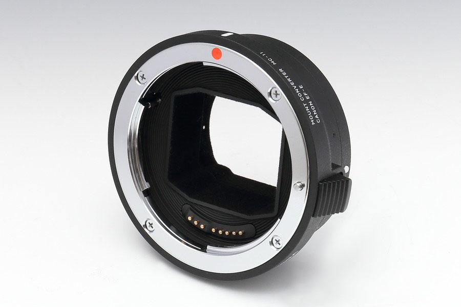 シグマ純正の高機能マウントアダプター「MC-11」のEF-Eモデルを試した