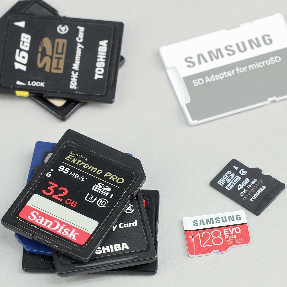 今さら聞けないSDメモリーカードの選び方