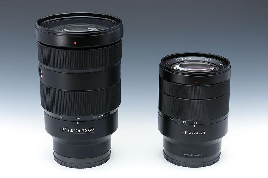 ソニーの最高峰レンズ「FE 24-70mm F2.8 GM」とカールツァイスレンズ「Vario-Tessar T* FE 24-70mm F4 ZA OSS」を比較してみた