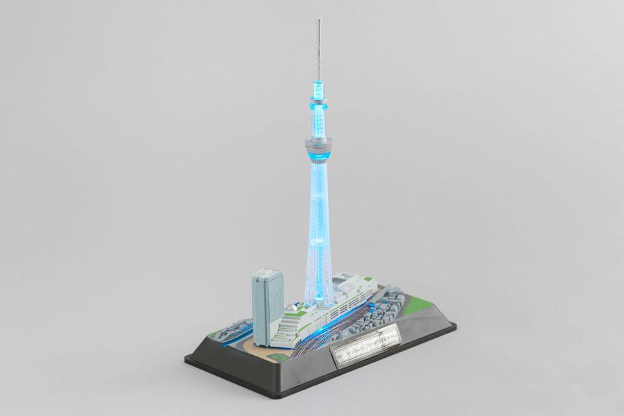 東京を代表するランドマークの情景を再現!「1/3000 東京スカイツリー」を作ってみました