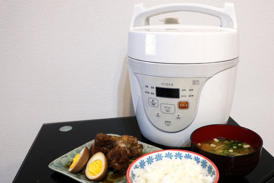 「シロカ 電気圧力鍋 クックマイスター」だけで1週間の夕飯を作ってみた