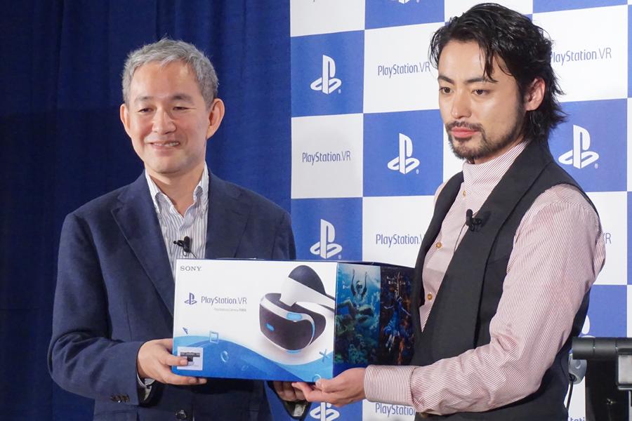 「PlayStation VR」が本日ついに発売! 山田孝之さんも登場した発売記念イベントレポート
