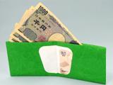 旅行やアウトドアに最適!耐水性もバッチリな「紙の財布」!