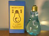 電球の中に日本酒が!ネット上で話題になった、ユニークな日本酒