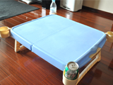 運動会で大活躍! 折りたたんで簡単に持ち運べるテーブル