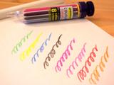 """""""多色ボールペン""""感覚で、8色を使い分けられる「クレヨン」"""