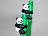 かわいい動物で食卓を楽しく!お箸にパンダがくっついた!