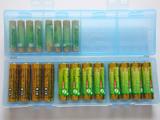 単三12本+単四16本。タップリ収納できる大容量電池ケース