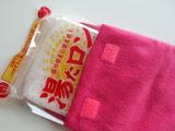 レンジで4分→温かさ8時間! くり返し使える超便利な湯たんぽ