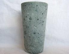 超貴重。幻の「しゃくだに石」を使用した美麗ビアカップ