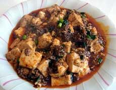 ネットで高評価。本場四川の調味料で作る麻婆豆腐が絶品!