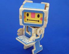 返信、じゃなかった変身! ロボになるメッセージカード