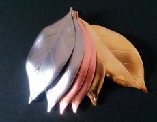 まるで本物! 葉っぱ型の箸置きがかなりオシャレで実用的