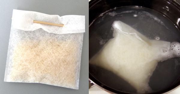 生米を入れて茹でるだけでご飯が炊ける!「お袋」のワザ