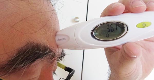 ここまで進化したか! わずか2秒で測れる赤外線体温計