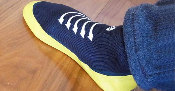 現代の地下足袋? 靴下とシューズが合体した新しい履き物