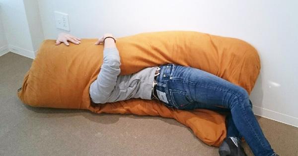 """なにこの形? 挟まれて最高に気持ちいい""""ツインテール""""抱き枕"""