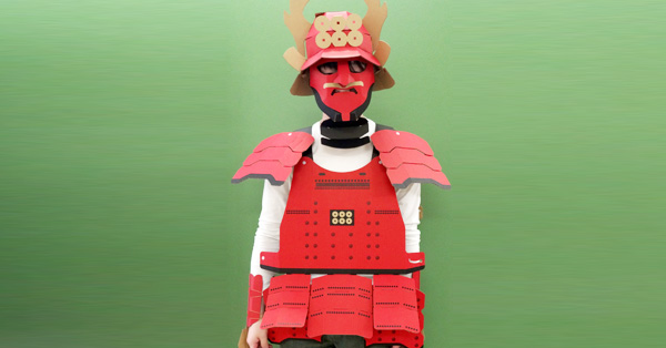 作って着れちゃう「甲冑工作キット」のクオリティがすごい!