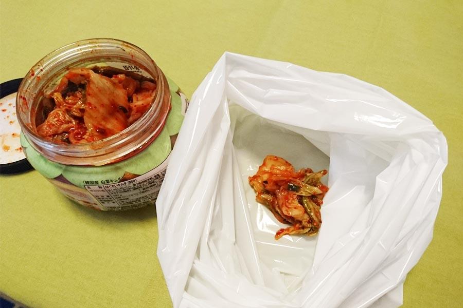 「生ゴミが臭わない袋」は本当に臭わないのか実験してみた!