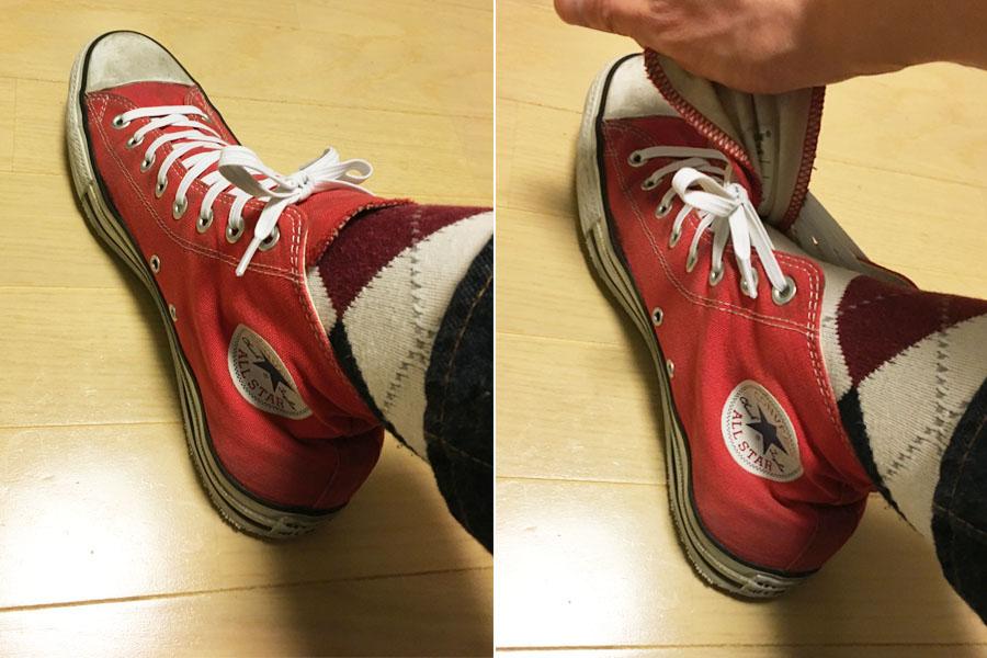 2秒で履ける?! 「伸びる靴ひも」で脱ぎ履きの面倒くささが消えた!
