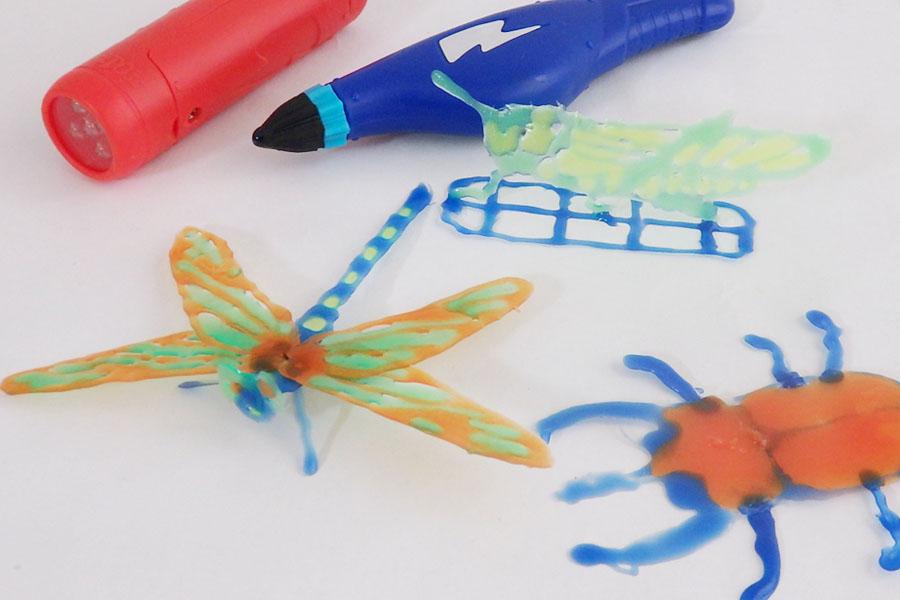 お手軽3Dプリンター? 描くだけで立体物が作れる夢のペン