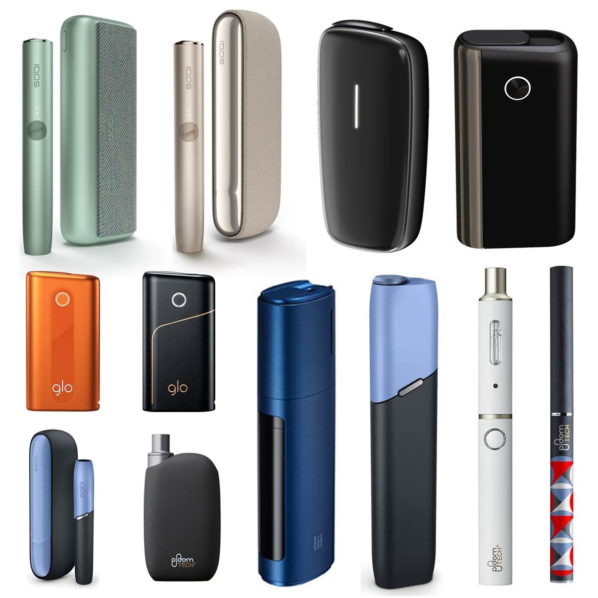 アイコス、グロー、プルーム、パルズ を比較! 加熱式タバコの現状まとめ《2020年最新》