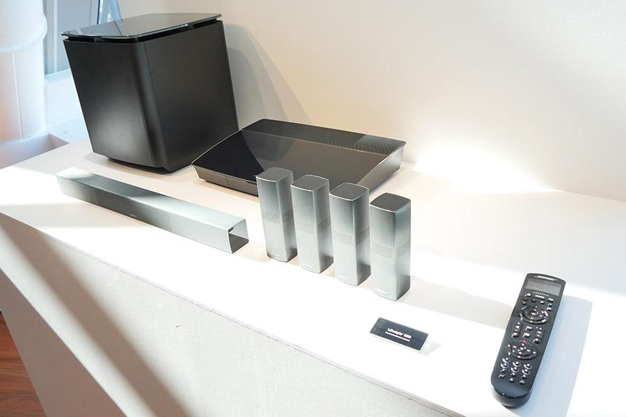 BOSEから5.1chホームシアターシステムのフラッグシップモデル「Lifestyle 650 system」などが登場!