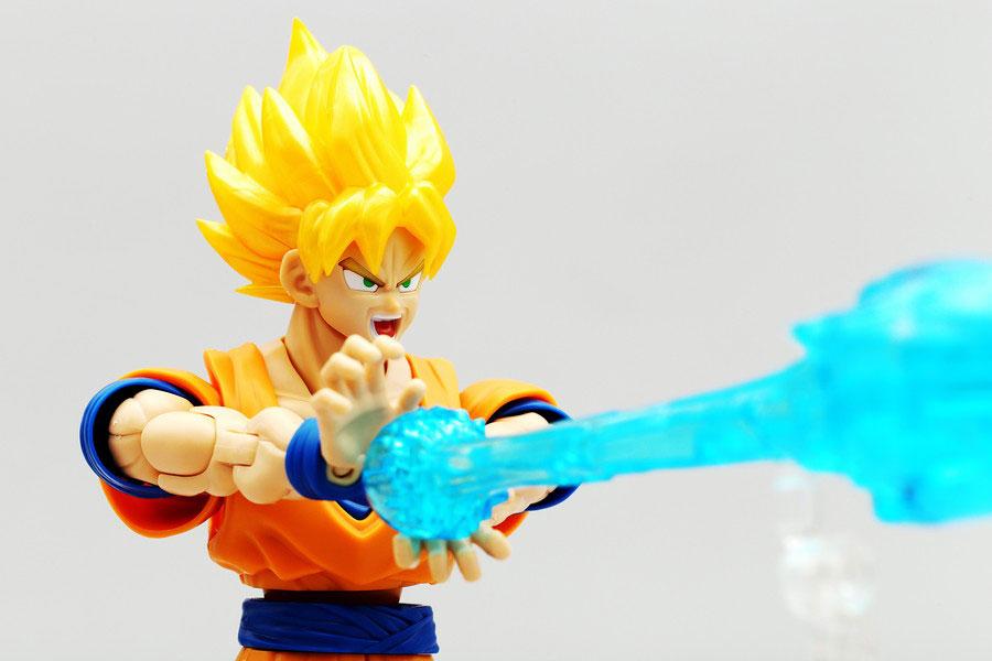 かめはめ波が撃てる!「Figure-rise Standard 超サイヤ人孫悟空」