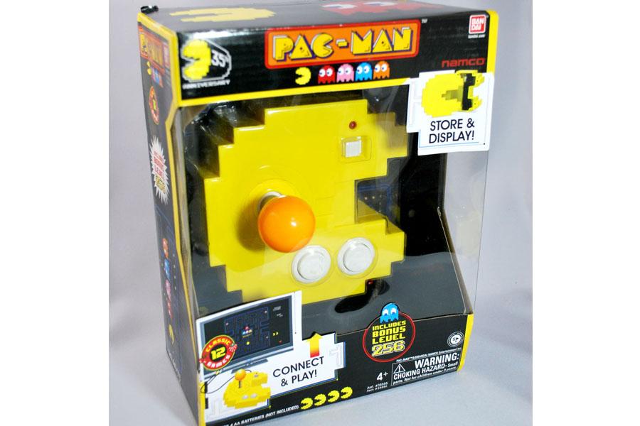 ナムコの名作が1台に凝縮! パックマン型のゲーム機 - 価格.comマガジン