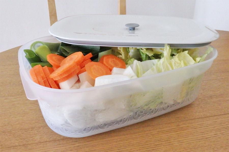 冷蔵庫内を華麗に仕分け! キュートで容量たっぷりの密閉容器