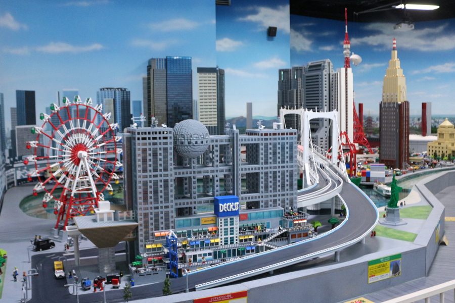 レゴだらけ! 大人も楽しめる「レゴランド・ディスカバリー・センター東京」に行ってきた