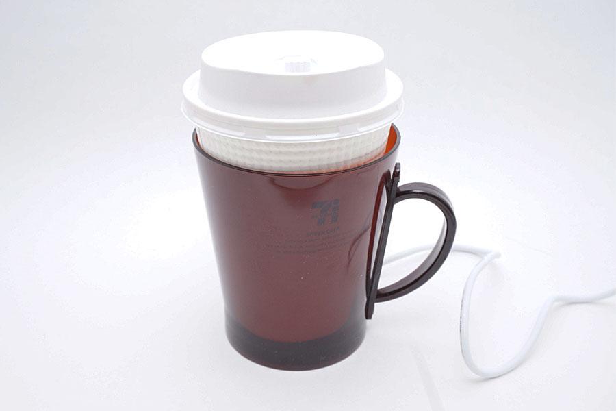USB給電でコーヒーあったか♪ 便利なカップウォーマーのver.2