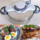 ティファールの圧力鍋「クリプソ ミニット イージー」なら、簡単操作で料理初級者も安心!