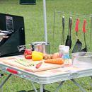 調理が断然スムーズに! キャンプで料理するならキッチンテーブルはあるほうがイイ!!